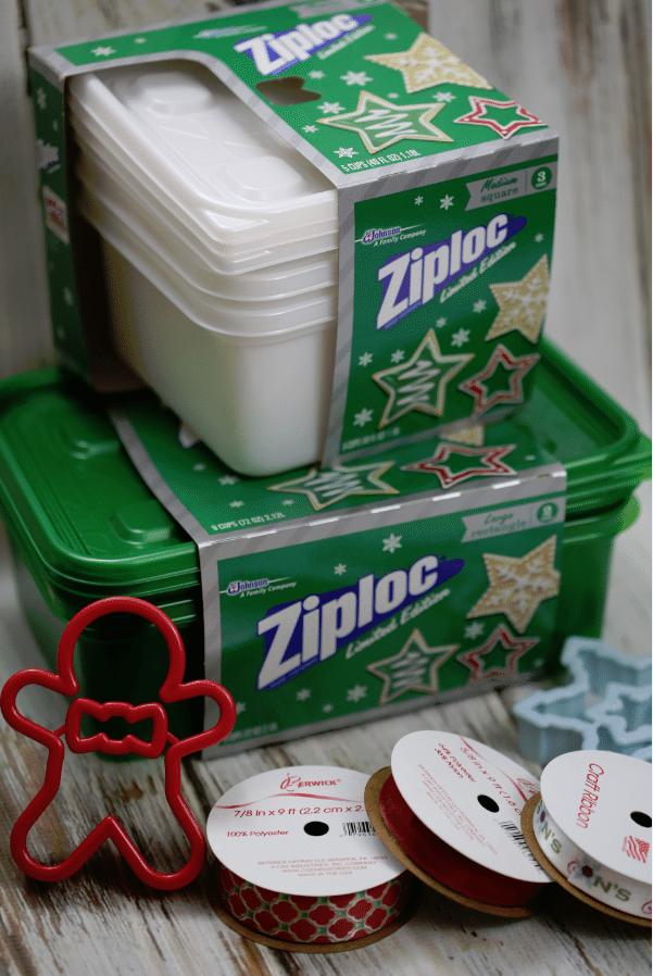 ziploc cookie container packaging