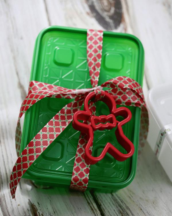 ziploc cookie container