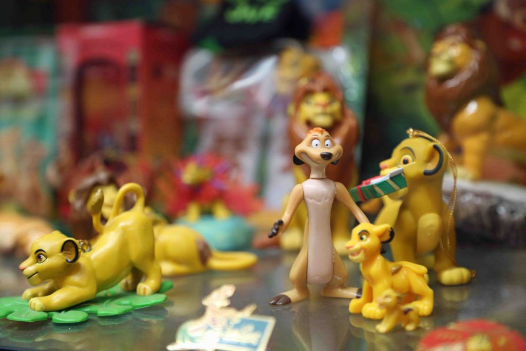 Blog Lion King at Branson Toy Museum