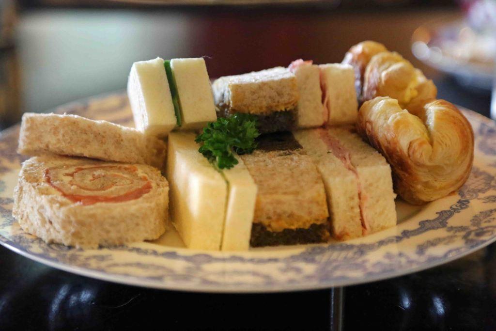 Blog food at Afternoon Tea at The Empress Victoria BC