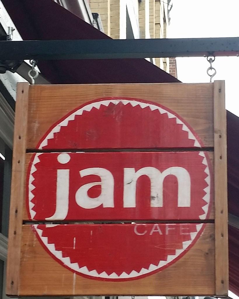 Jam Cafe Sign