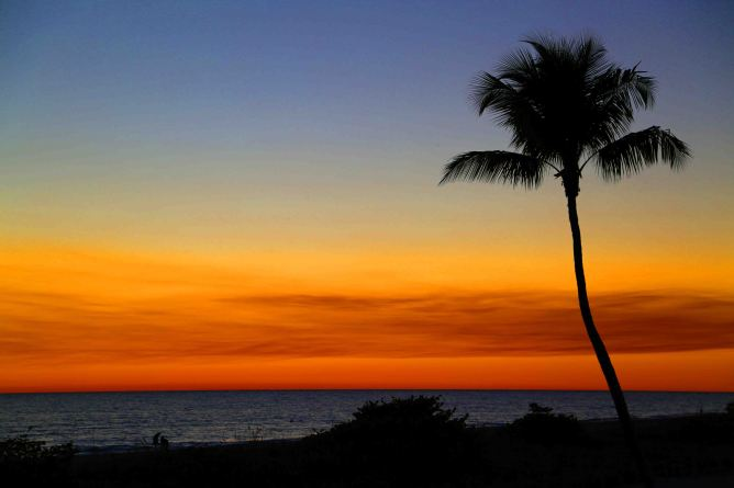 Blog Unbelieveable sunset at Sanibel Island Florida