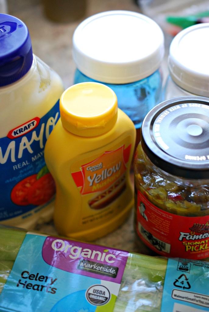 Macaroni Salad Ingredients