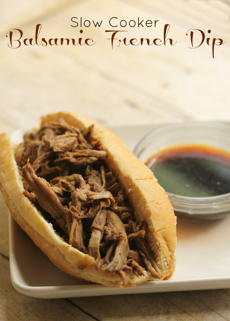 balsamic french dip