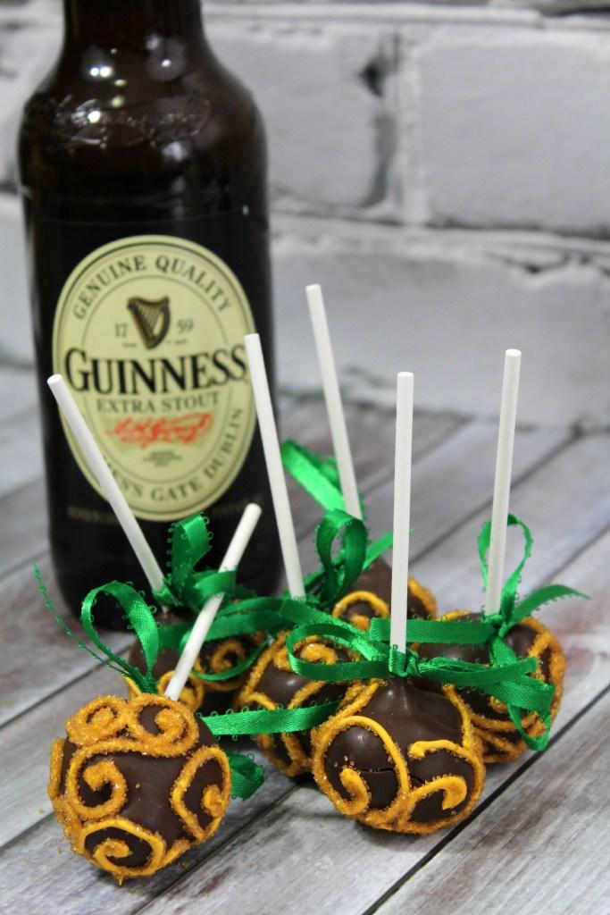 Guinness cake pop 9