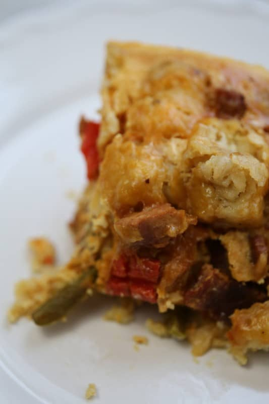 Crock Pot Tater Tot Breakfast Casserole Recipe