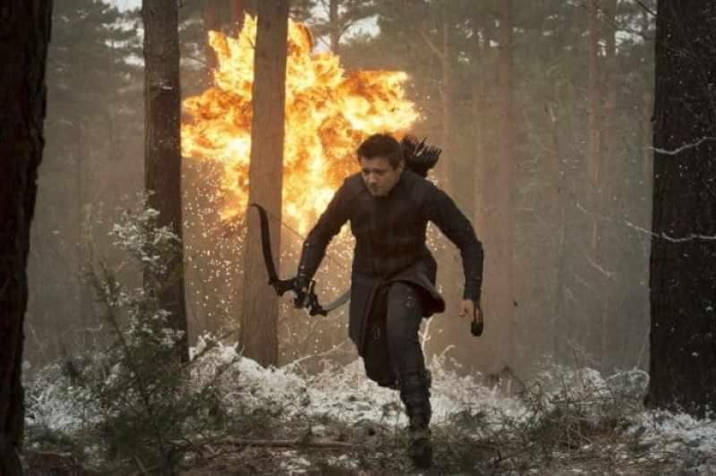 Hawkeye in Avengers Age of Ultron