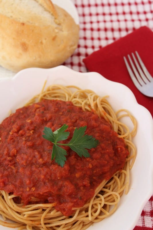 Copy Cat Olive Garden Marinara Sauce