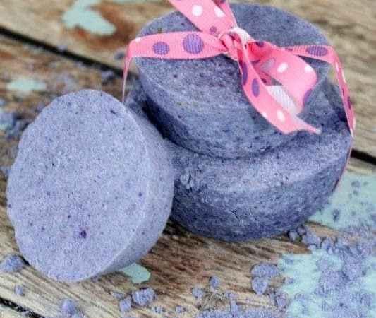 DIY Lavender Bath Bomb