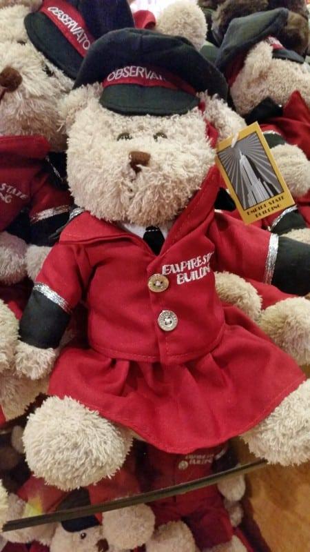 Empire State Building Teddy Bear