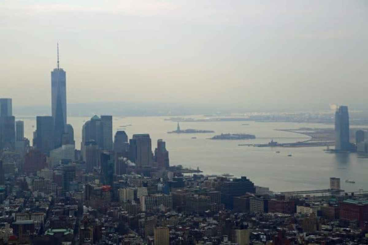 Great view from the Empire State Building New York
