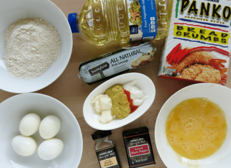 Scotch Eggs Ingredients