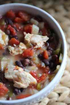 Crock Pot Spicy Chicken Chili