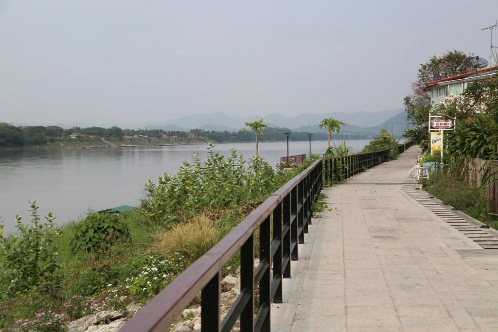 Chaing Khan Thailand along the Mekong Rier