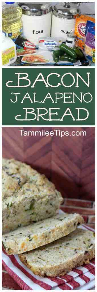 Easy homemade Bacon Jalapeno Cheesy Bread Loaf Recipe you will love! Great for super bowl parties or any day of the week. This bread recipe is soo good! Great for breakfast, lunch or dinner or really any time fo the day.