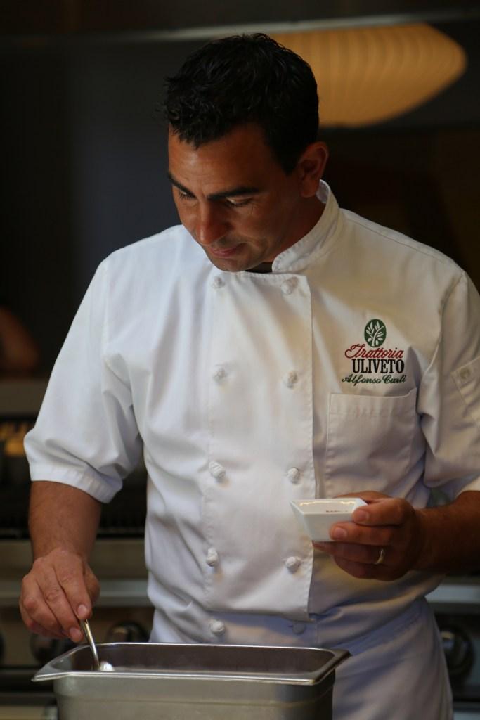Chef Alfonso Curti Trattoria Uliveto