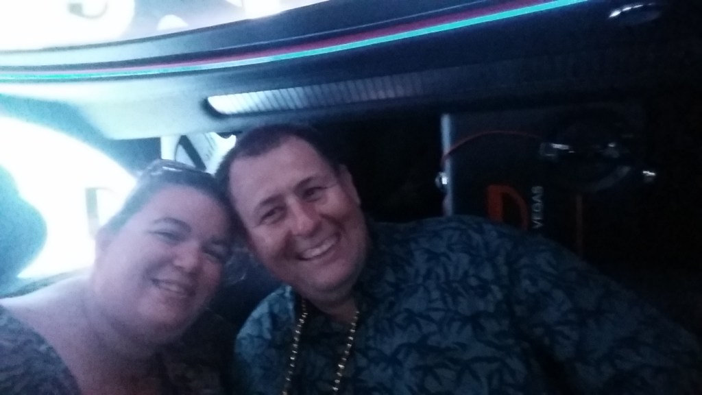 Riding in the D Las Vegas Hummer Limo