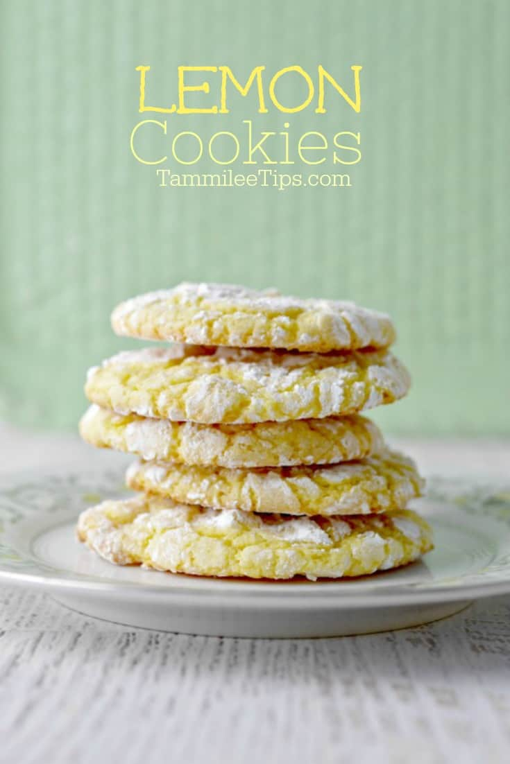 Best Easy Lemon Cookies from a cake mix that everyone will love. soft, chewy, easy perfect for Easter, Spring, Summer, birthday parties, school parties, or any day you want a sweet treat recipe.  