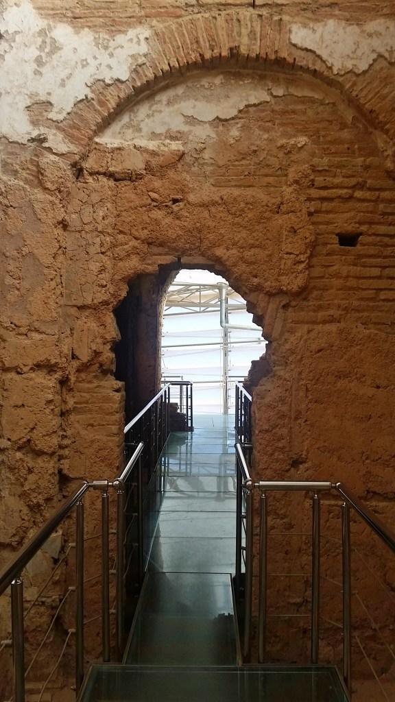Glass Walkways inside Terra Cotta Houses