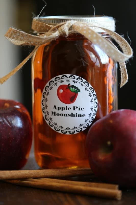 Crock Pot Apple Pie Moonshine