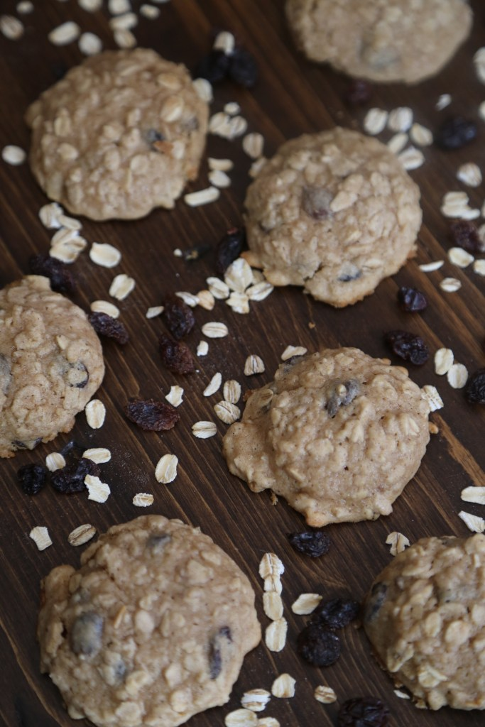 Apple Oatmeal Raisin Cookies Recipe