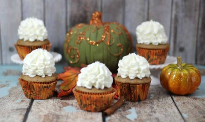 Pumpkin Chai Cupcake Recipe