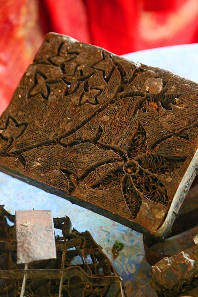 Batik Factory pattern stamp