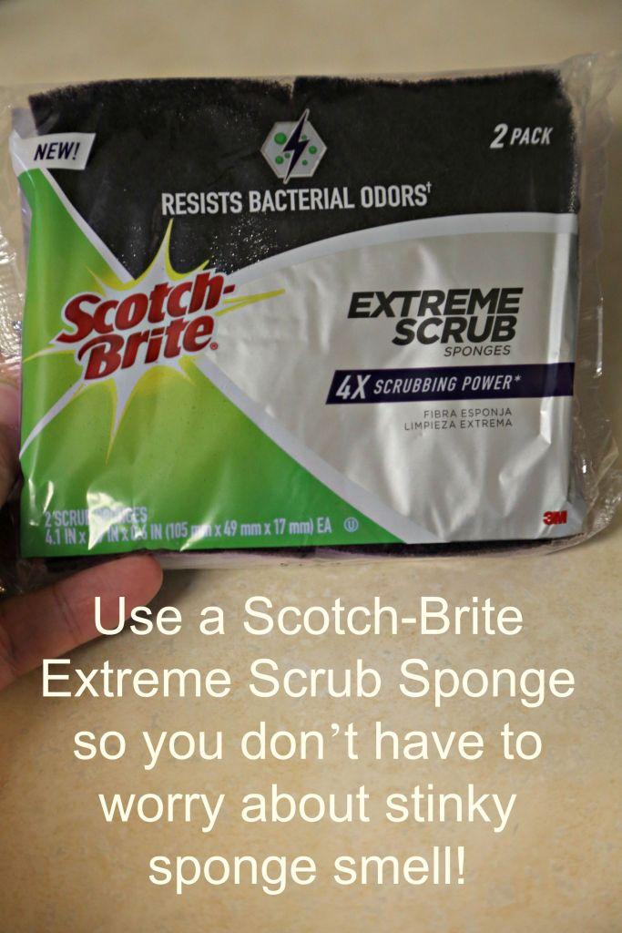 Scotch Brite Extreme Scrub Sponge
