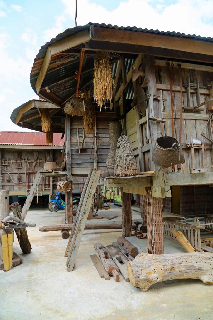 Cultural Village near Loei Thailand