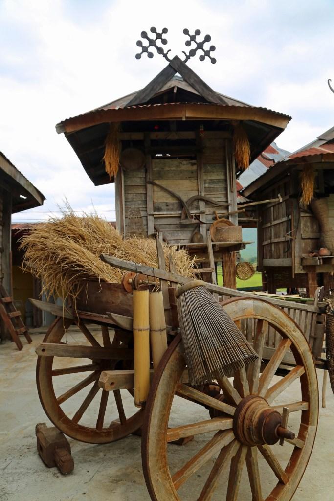 Thai Dam Cultural Village near Loei Thailand