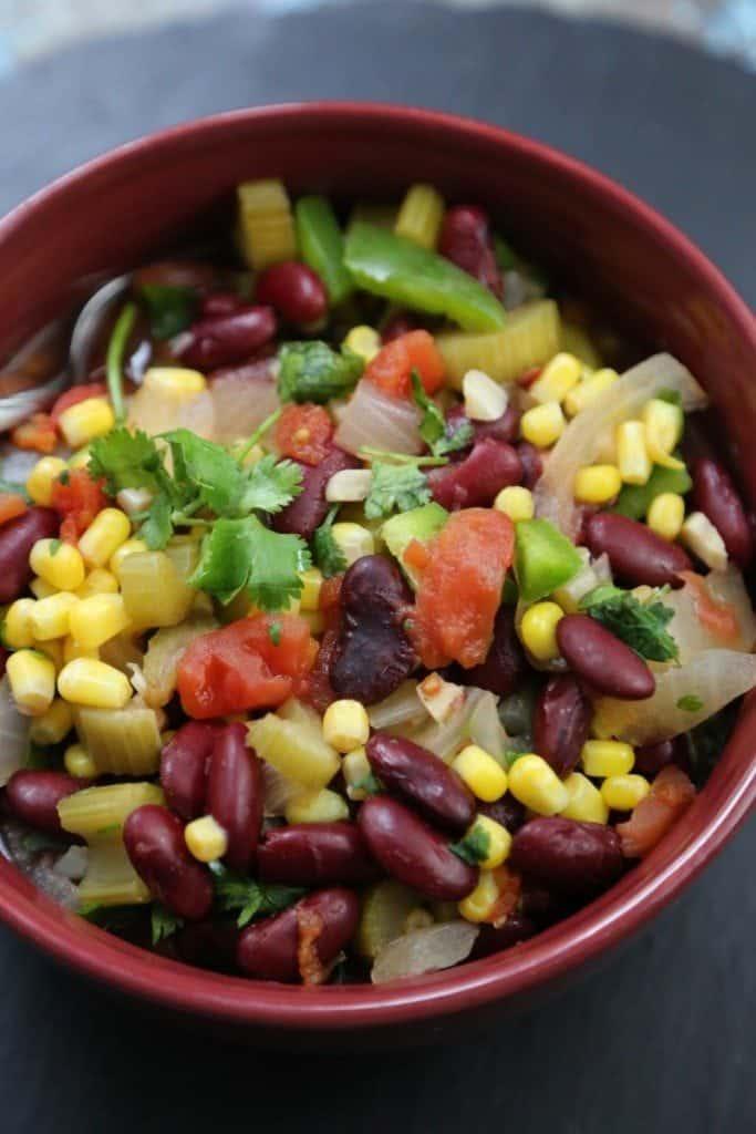 Crock Pot Vegetable Chili Recipe