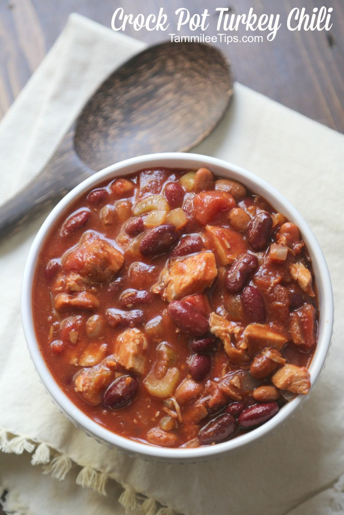Crock Pot Turkey Chili Recipe