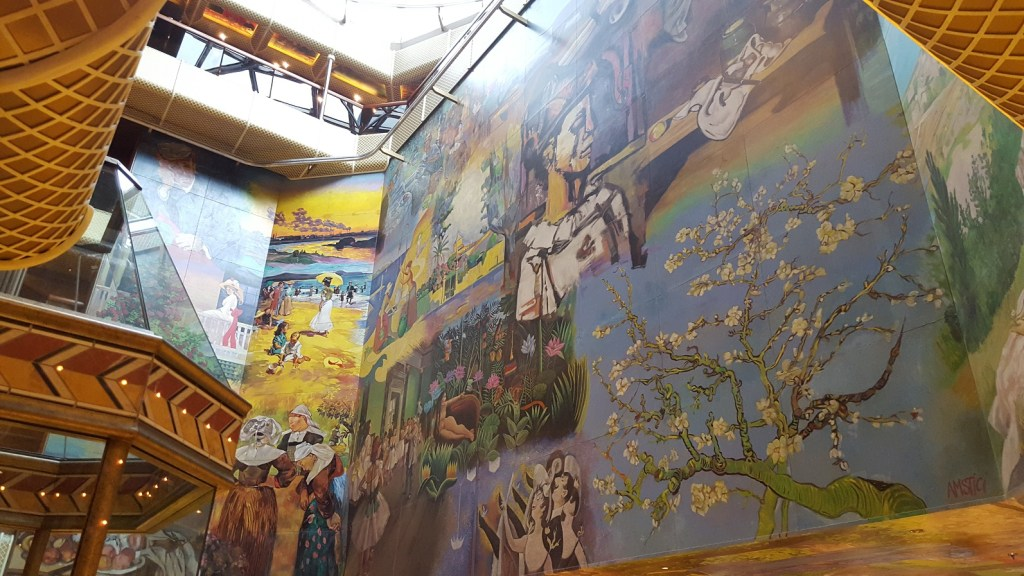 carnival conquest lobby art