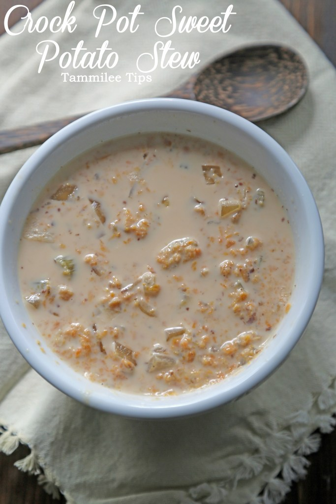 Crock Pot Sweet Potato Stew Recipe