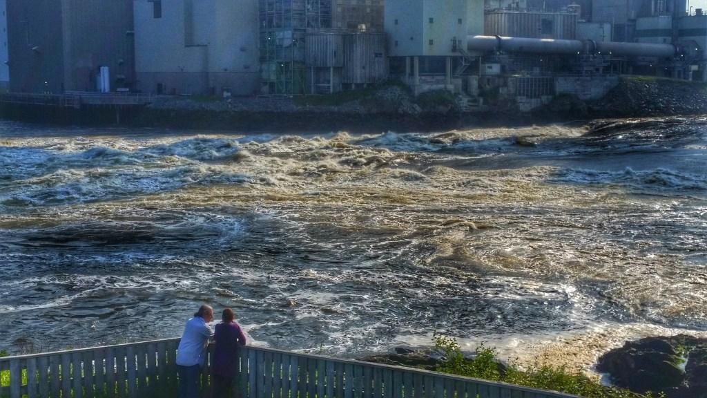 reversing rapids, new brunswick, canada