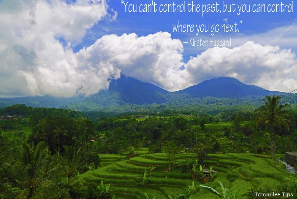 You cant control the past