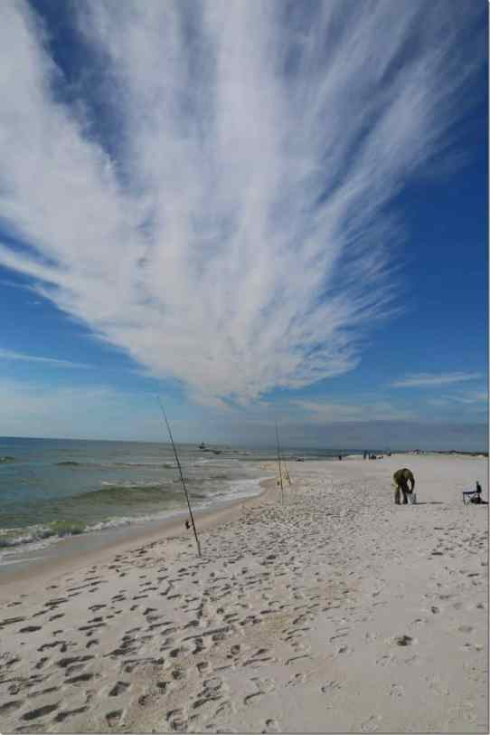Fishing in Gulf Islands National Seashore