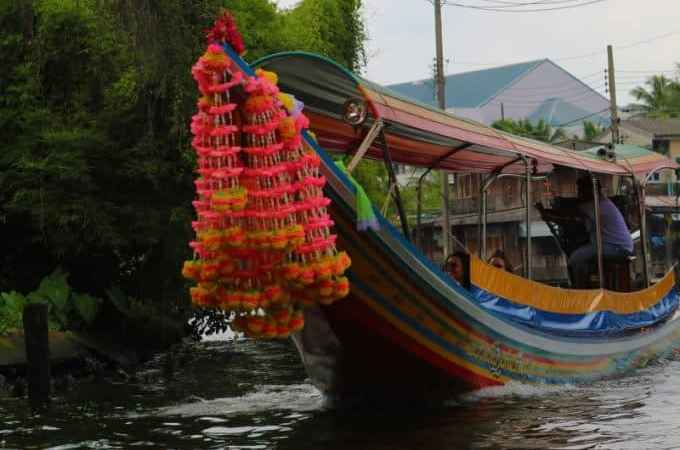 Boat tour along the Chao Phraya River and the Canals of Thonburi in Bangkok, Thailand