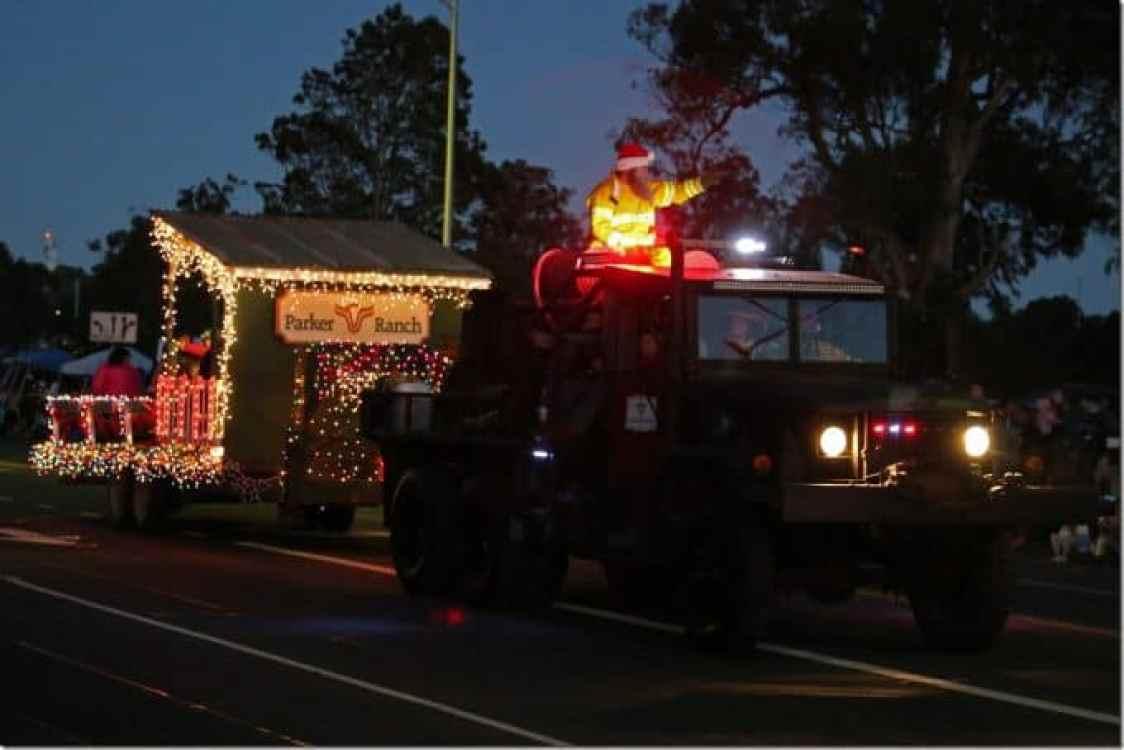 Parker Ranch at the Waimea Christmas Parade