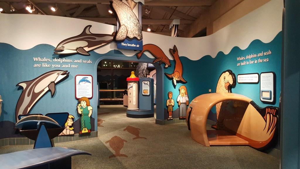 inside education at Monterey Bay Aquarium