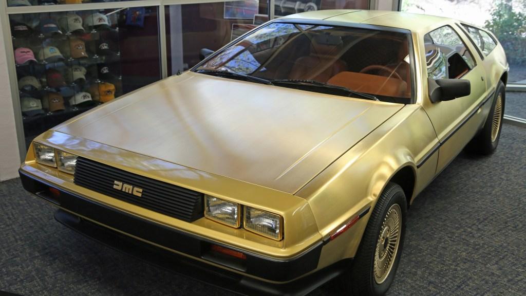 1981 DeLoren at Reno Auto Museum