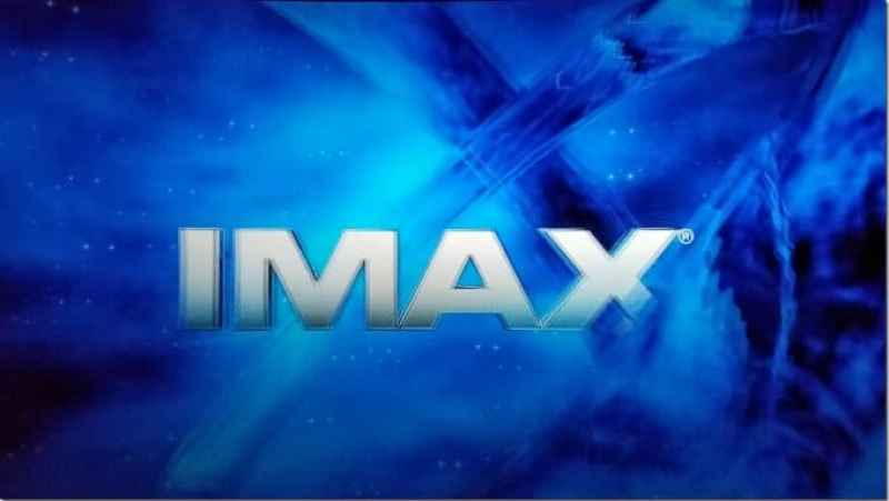 IMAX sign in 3D