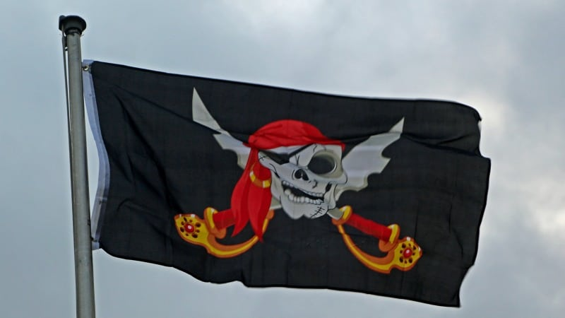pirate flag Lake Charles Pirate Festival