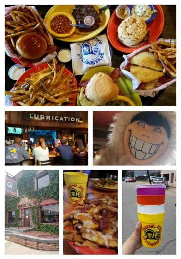 Eskimo Joes Collage of Photos