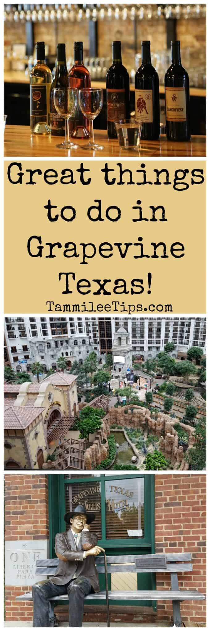 Great things to do in Grapevine, Texas!