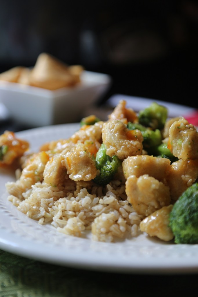 Take Out style orange Chicken and Broccoli recipe Tammilee Tips