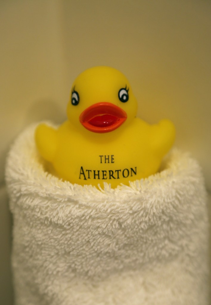 The atherton rubber ducky