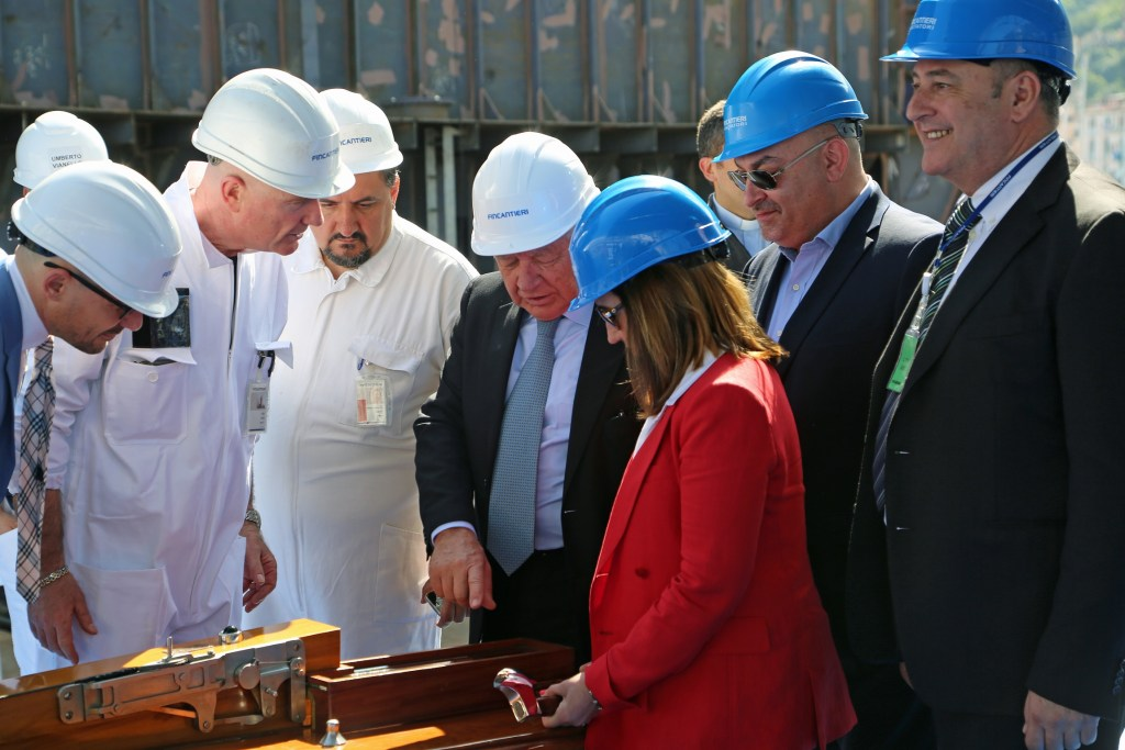 keel-laying-ceremony-of-new-carnival-ship
