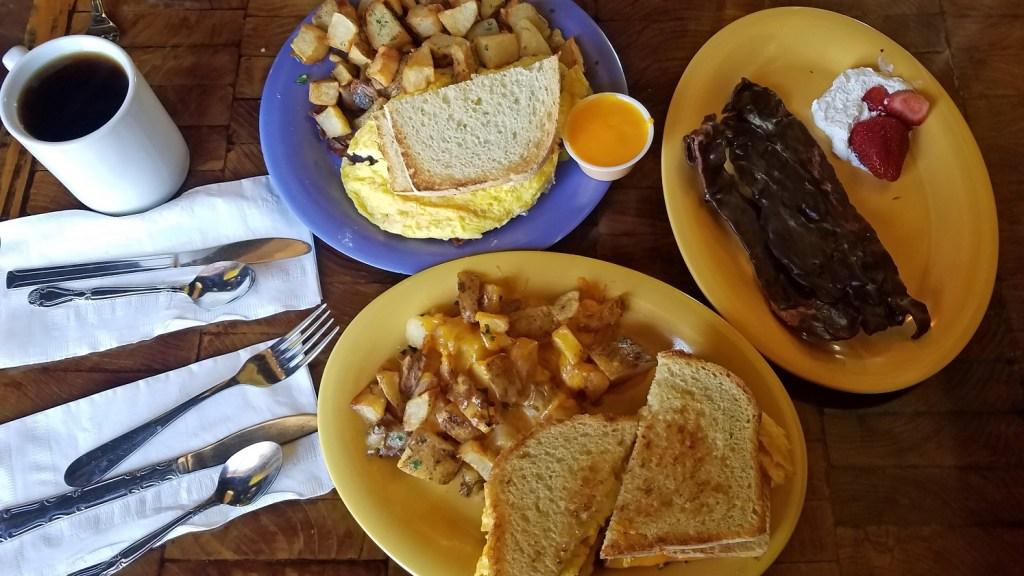 Breakfast at Squeeze Inn Reno