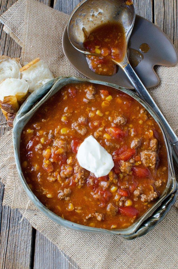 Crock Pot Camp Stew Recipe